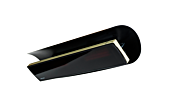 Weathershield 5 Black HEATSCOPE® Accessorie - Studio Image by Heatscope Heaters