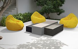Bloc L3 Coffee Table - In-Situ Image by Blinde Design