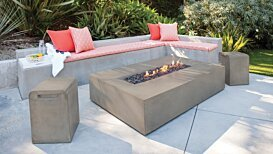 Flo Fire Pit - In-Situ Image by