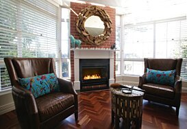 Grate 36 Fireplace Insert - In-Situ Image by EcoSmart Fire
