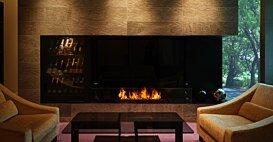 XL1200 Ethanol Burner - In-Situ Image by EcoSmart Fire