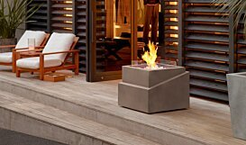Step Fire Pit - In-Situ Image by EcoSmart Fire