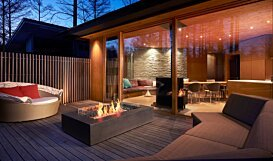 Wharf 65 Fire Pit - In-Situ Image by EcoSmart Fire