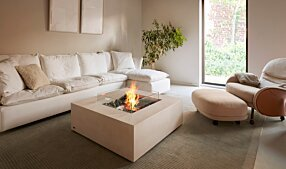 Private Residence - Base 40 Fire Pit Table by EcoSmart Fire