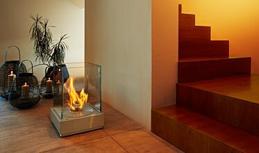 Mini T Portable Fire Pit - In-Situ Image by EcoSmart Fire
