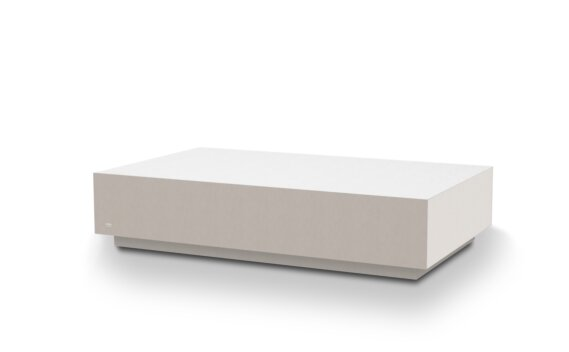 Bloc L6 Coffee Table - Bone by Blinde Design