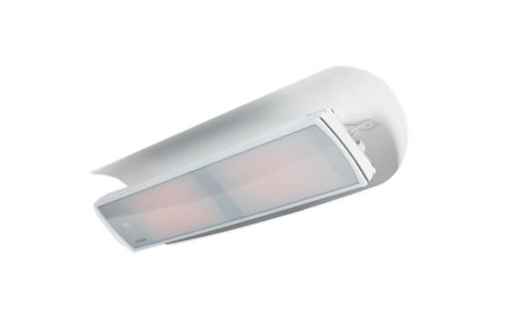 Weathershield 5 White HEATSCOPE® Accessorie - White / White by Heatscope Heaters