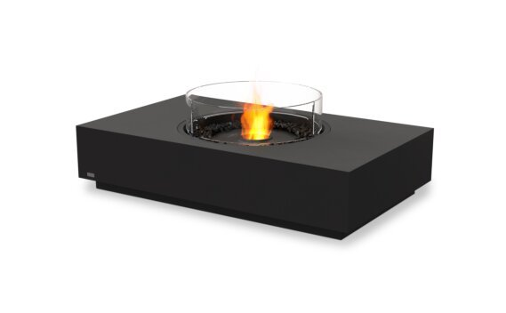 Martini 50 Fire Pit - Ethanol - Black / Graphite / Optional Fire Screen by EcoSmart Fire