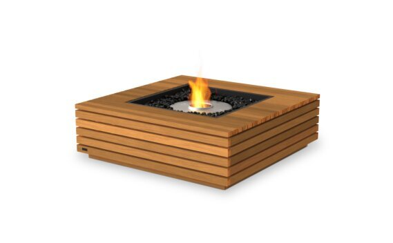 Base 40 Fire Pit - Ethanol / Teak by EcoSmart Fire