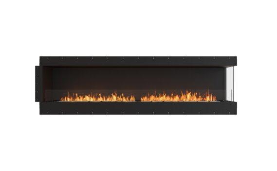 Flex 104RC Right Corner - Ethanol / Black / Uninstalled View by EcoSmart Fire