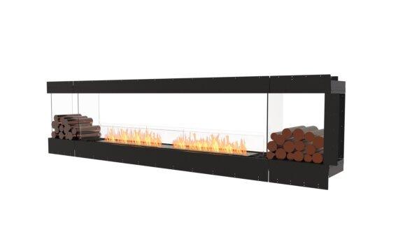 Flex 122PN.BX2 Peninsula - Ethanol / Black / Uninstalled View by EcoSmart Fire