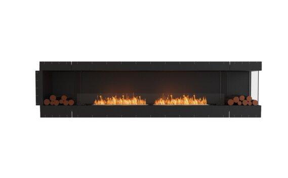 Flex 122RC.BX2 Right Corner - Ethanol / Black / Uninstalled View by EcoSmart Fire