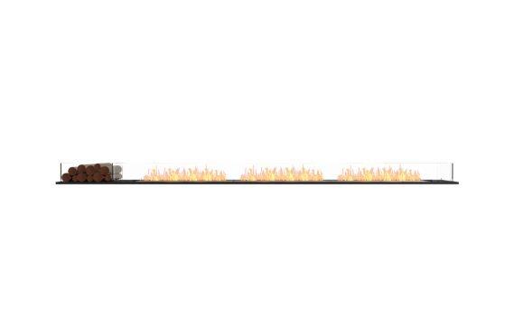 Flex 140BN.BX1 Bench - Ethanol / Black / Installed View by EcoSmart Fire