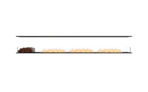 Flex 140IL.BX1 Island - Ethanol / Black / Installed View by EcoSmart Fire