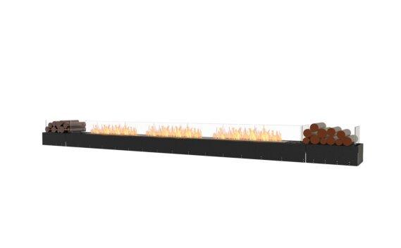 Flex 158BN.BX2 Bench - Ethanol / Black / Uninstalled View by EcoSmart Fire