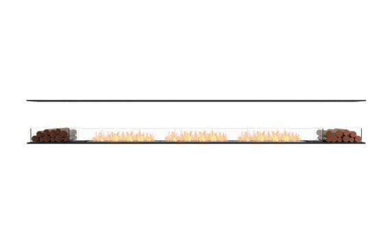 Flex 158IL.BX2 Island - Ethanol / Black / Installed View by EcoSmart Fire