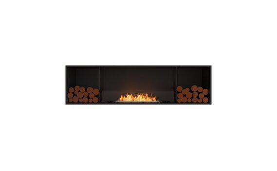 Flex 78SS.BX2 Single Sided - Ethanol / Black / Installed View by EcoSmart Fire