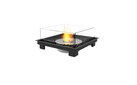 Square 22 Fireplace Insert - Ethanol / Black by EcoSmart Fire