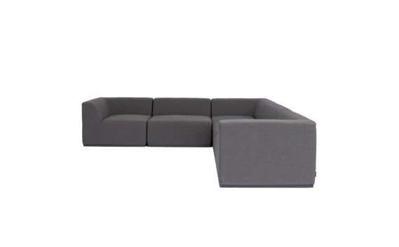 Relax Modular 5 L-Sectional Furniture - Flanelle by Blinde Design