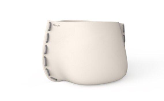Stitch 125 Planter - Bone / Grey by Blinde Design