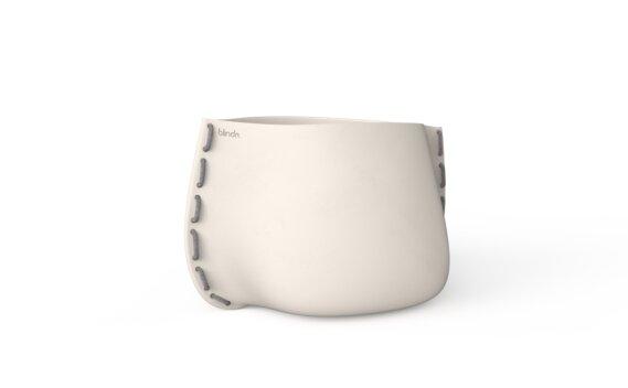 Stitch 75 Planter - Bone / Grey by Blinde Design
