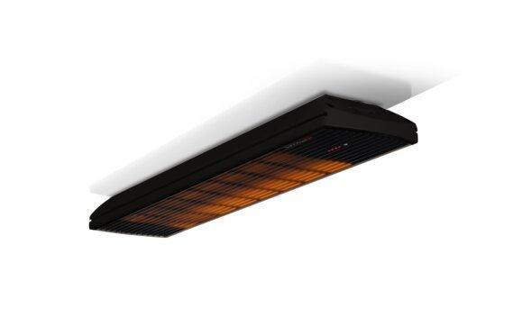 Spot 2800W Radiant Heater - Black / Black - Flame On by Heatscope Heaters