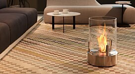 Cyl Fire Pit - In-Situ Image by EcoSmart Fire