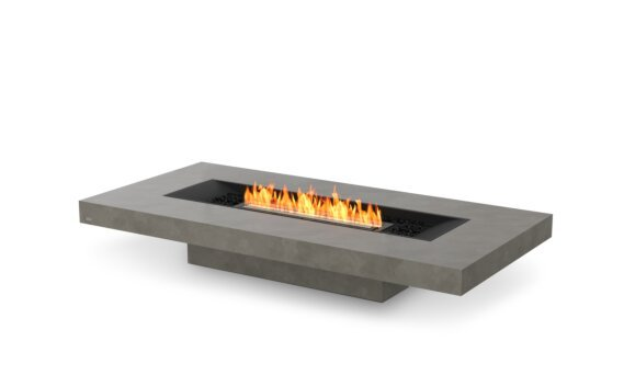 Gin 90 (Low) Fire Pit - Ethanol - Black / Natural by EcoSmart Fire